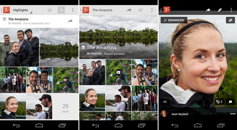 Google+ for Android updates
