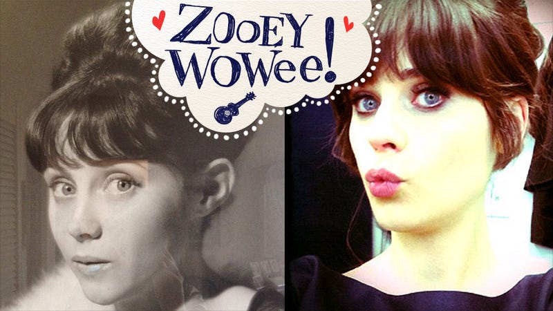 Zooey Deschanel Resembles Parent