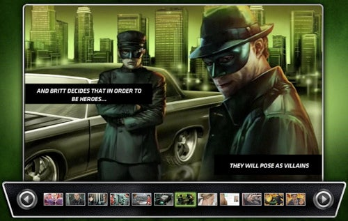 Green Hornet Motion Comic