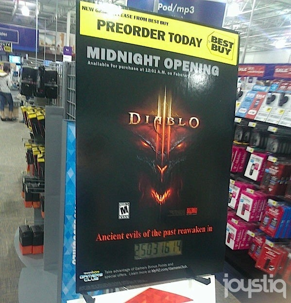 Is Diablo III Coming Out February 1? Best Buy Seems Pretty Sure [Update]