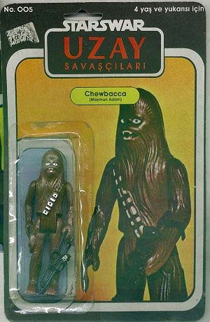 Turkish Star Wars action figures are gloriously awful