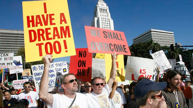 California Voters Had Their Chance, Won't Vote Again On Gay Marriage