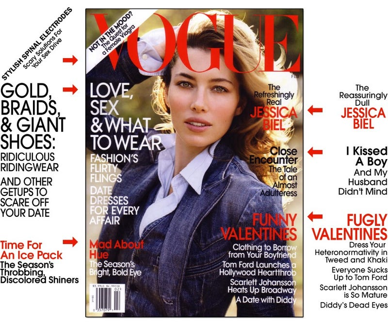 Vogue: Jessica Biel Makes Us Feel Good About Ourselves