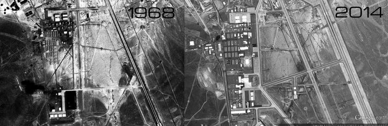 Why Is AREA 51 Building A Mysterious New Hangar And What Will It Hide?
