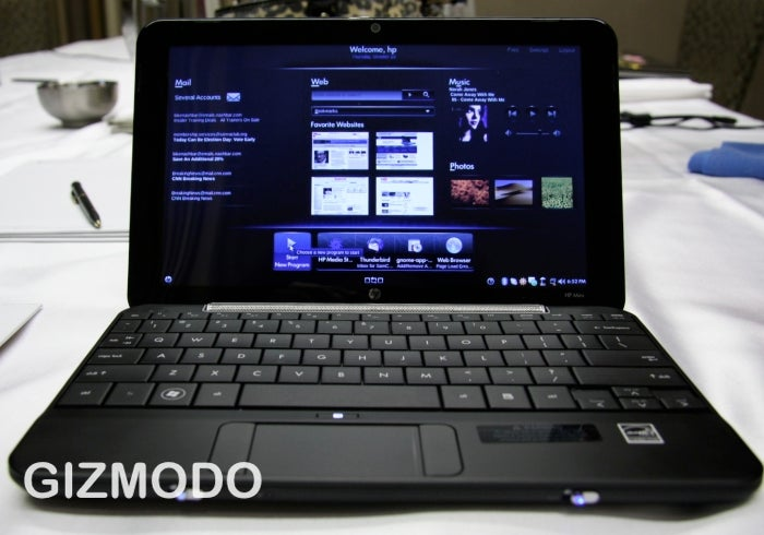 HP Mini 1000 Netbook Now Shipping With 3G Internet Capability
