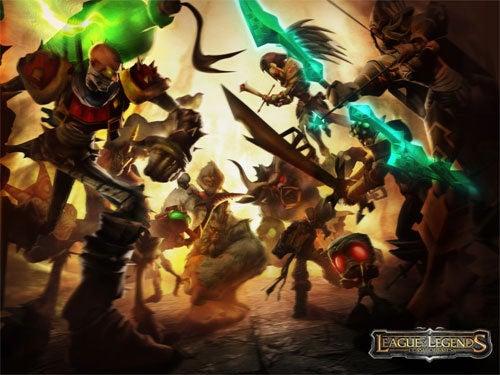 League Of Legends Beta Cracks Wide Open