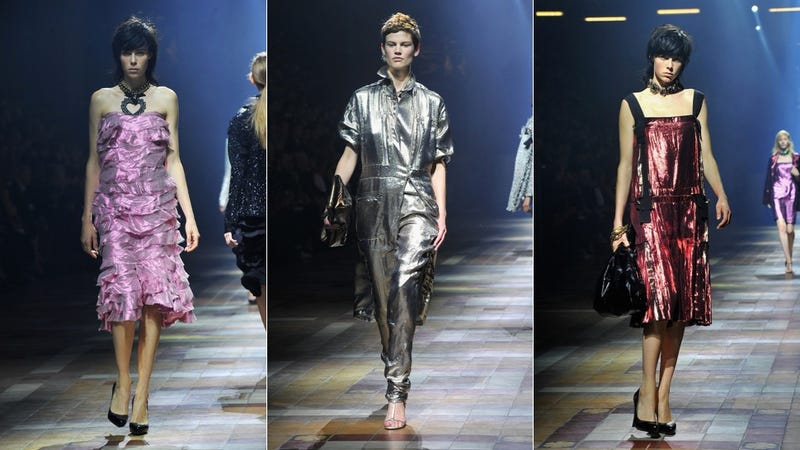 Lanvin: For the Intergalactic Party Girl Dancing by a Dumpster in You