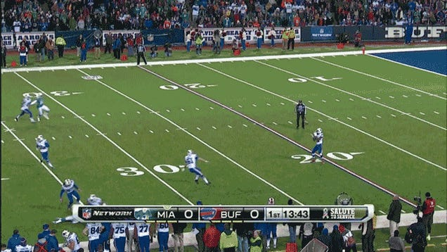 Offensive Touchdowns Are So Overrated: Bills-Dolphins, In Two GIFs