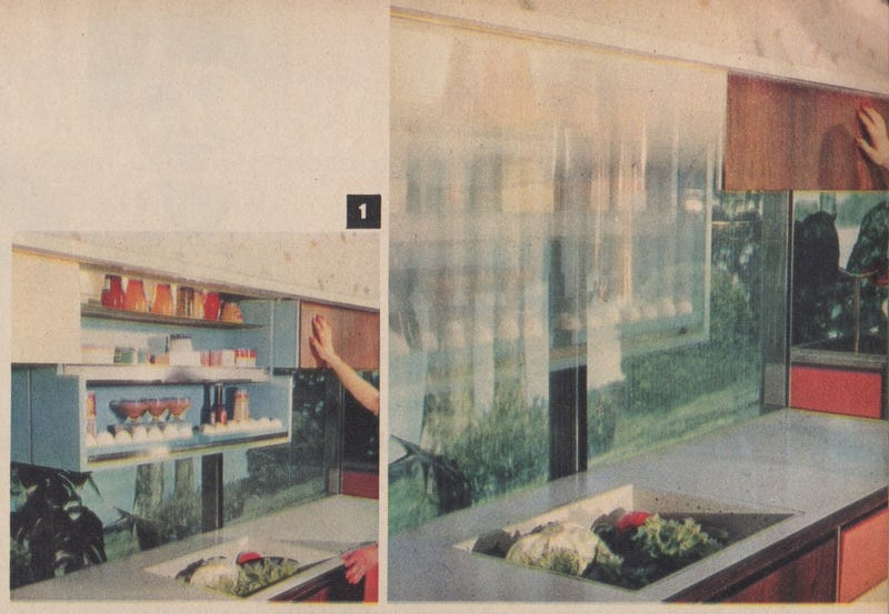 """The 1950s """"Miracle Kitchen"""" of the Future Had Its Own Roomba"""
