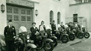 Please enjoy these Vintage Photos of Women on Motorcycles