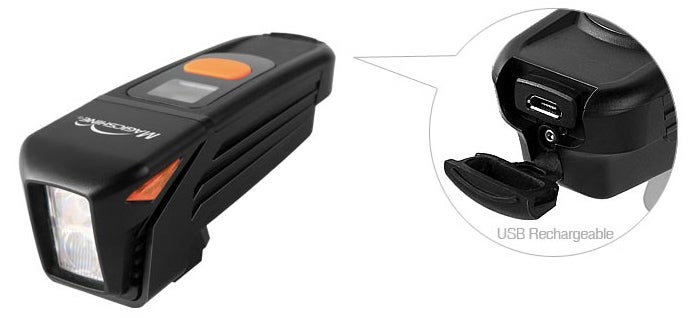 A Rechargeable Bike Light That Tells You Exactly When It Will Die