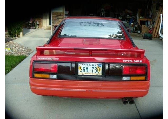 The Cleanest Toyota MR2 For Sale On Craigslist For Less Than $5k
