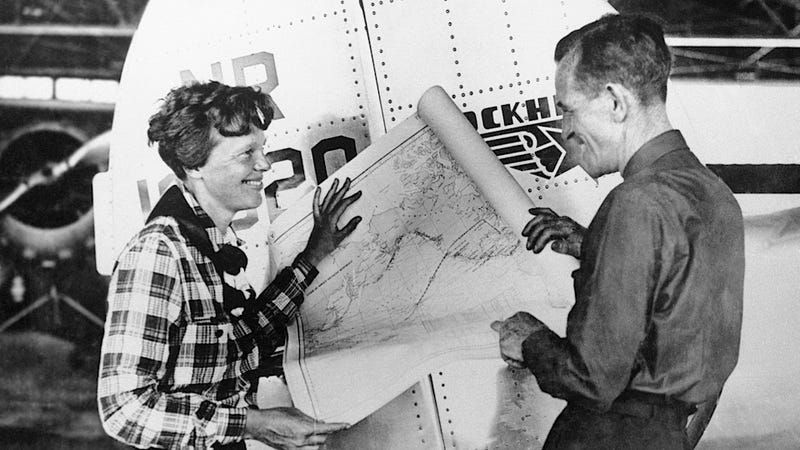 Amelia Earhart's Plane Has Maybe Been Found in Pieces on the Ocean Floor