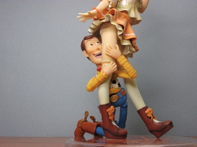 Woody Isn't Just a Toy Story Character. He's a Plastic Figure Pervert.