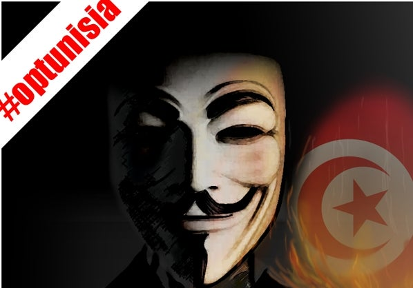 Anonymous Attacks Tunisian Government over Wikileaks Censorship