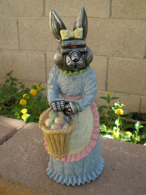 Cylon Easter Bunny Will Kill By Your Command