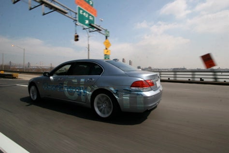 It's Combustin' Time: Driving the BMW Hydrogen 7 in NYC