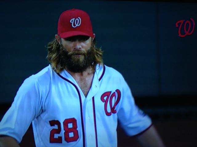 The Nationals Unleashed Their Chest Hair Last Night