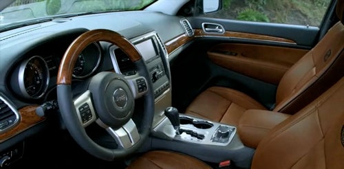 More Legroom, Luxury In All-New 2011 Jeep Grand Cherokee Redesign
