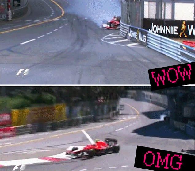 An Overanalysis Of The Sexxxiest Crash At The Formula One Monaco GP