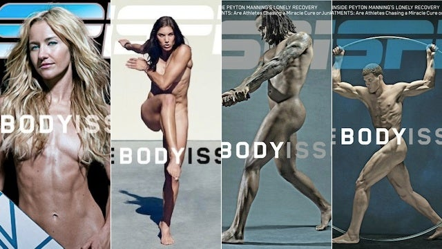 Hope Solo And Friends Grace The Covers Of ESPN The Magazine's Nudie Issue