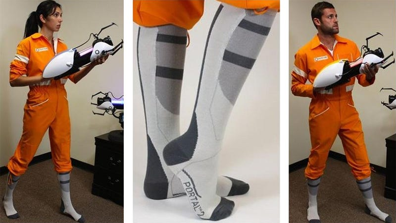 Become an Aperture Test Subject With Your Very Own Portal Jumpsuit