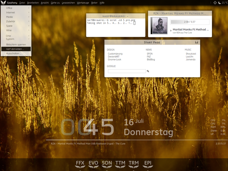 The Stylish Ubuntu Desktop