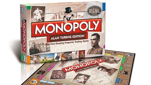 New Monopoly board is based on the life of Alan Turing
