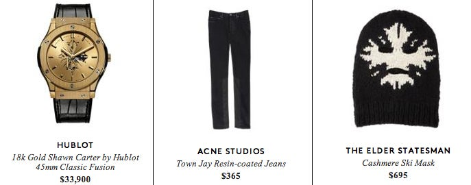 Jay Z's Collection for Barneys Is Great If You Like $2600 Boxer Shorts