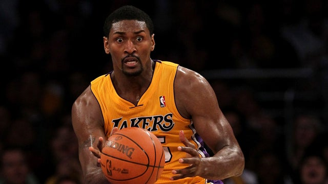 Ron Artest Couldn't Change His Name To 'Metta World Peace' In Time For Dancing With The Stars