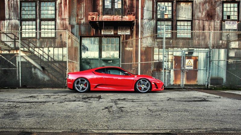 Your Ridiculously Awesome Ferrari F430 Wallpaper Is Here
