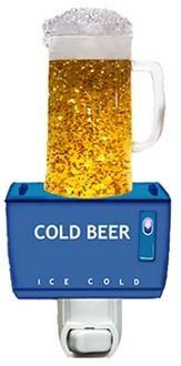 Beer Mug Night Light Keeps Kids Safe