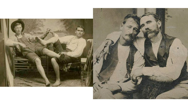 Vintage Photos of Ordinary Guys Holding Hands Reveal How Much Has Changed