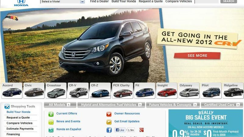 What's The Worst Automaker Website?