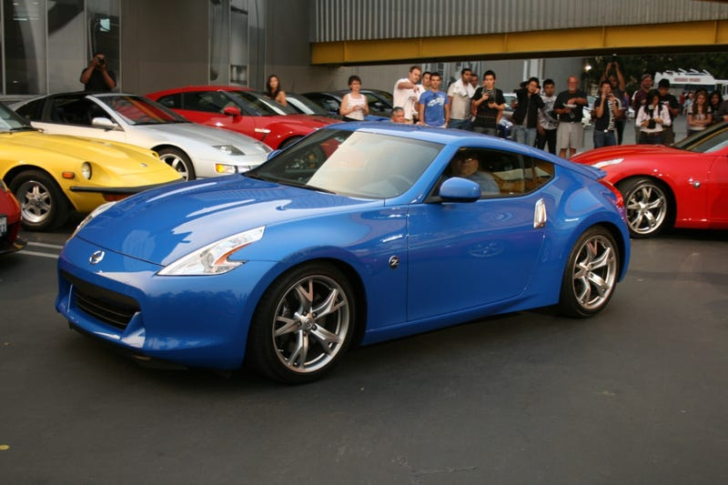 2009 Nissan 370Z Unveiled Live At Secret LA Event