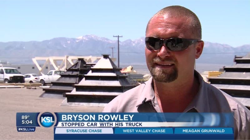 Vigilante Who Shut Down A Car Chase Rewarded With New Truck Parts