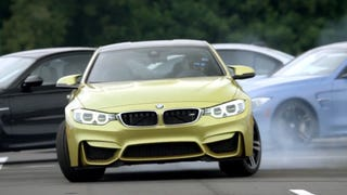 Precision Drifting A BMW M4 Around Owners' M-Cars