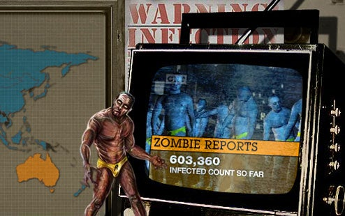 Grand Theft Auto IV Also Plagued By Zombies