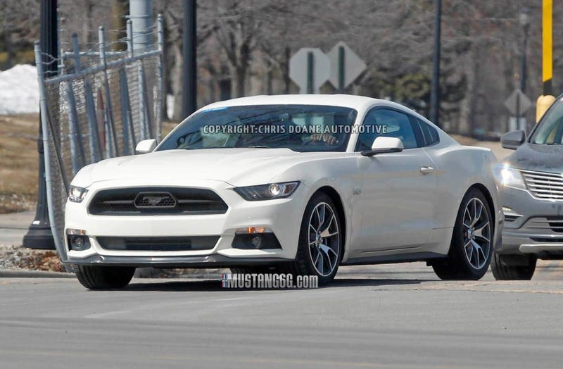 Is This The 2015 Ford Mustang 50th Anniversary Edition?