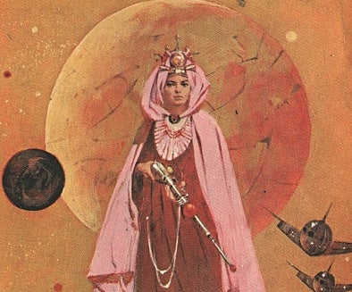 Princess of Mars fanfic from the 1960s puts some damn clothes on Deja Thoris