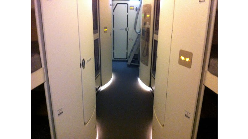 The A380 Crew Quarters Look Like a Star Trek Set