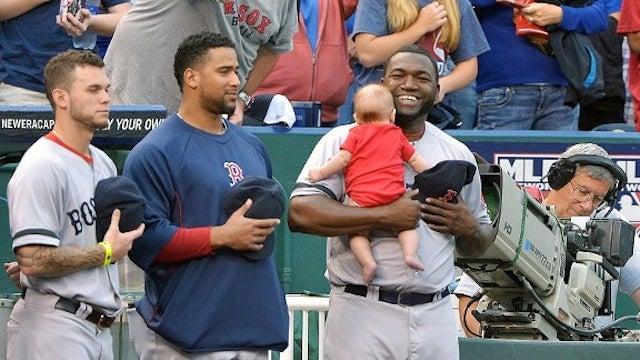 David Ortiz Found A Baby Somewhere