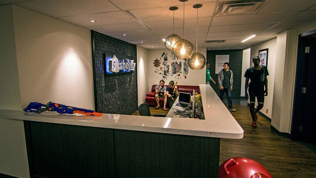 Plenty of Color and Lots of Personality: The Offices of Shopify