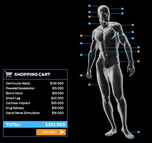 Want To Upgrade Yourself? Head To The Bionic Body Shop