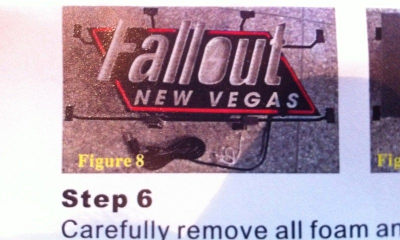 Win Our Fallout New Vegas Neon Sign Right Here, Right Now