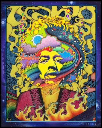 The secret science fiction inspiration behind Jimi Hendrix's music