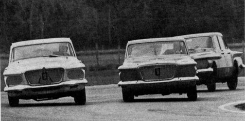 Got Six Cylinders And Uses Them All: NASCAR's Falcons, Valiants, and Corvairs