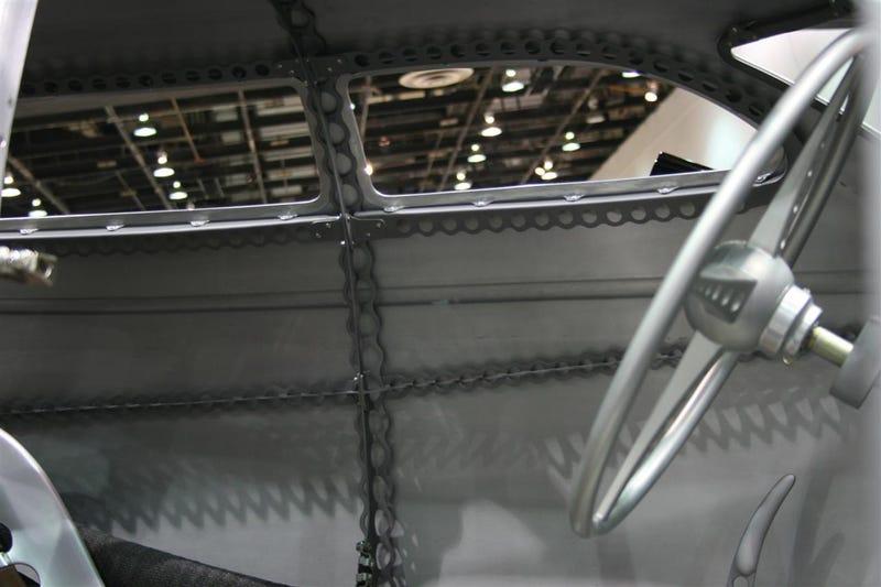 2009 Detroit Autorama: Dan Webb's Golden Submarine Debuts!