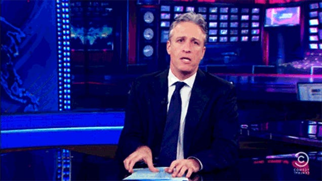 Chinese TV Uses Jon Stewart to Criticize the U.S., Misses the Point