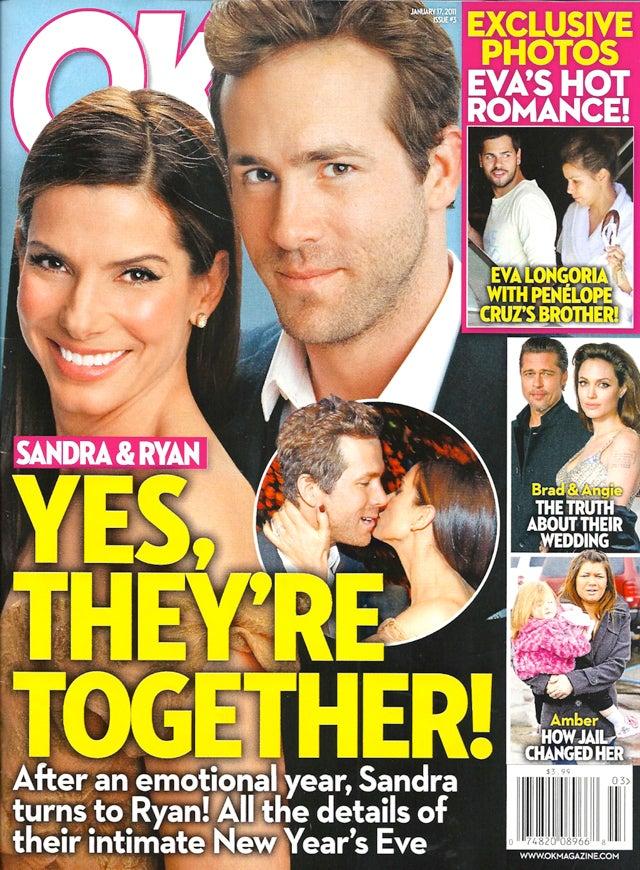 This Week In Tabloids: Ryan & Sandra Are A Perfect Fit